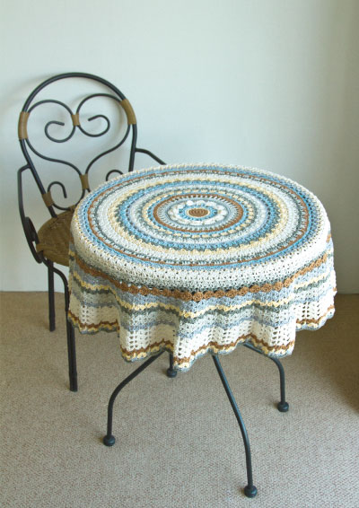 Pattern 17: Forever Earth Tablecloth