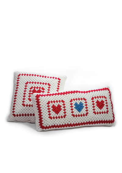 Pattern 18: I Love Hearts Cushions