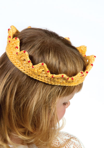 Pattern 21: Darling Little Princess Crown