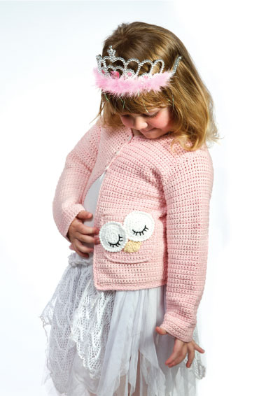 Pattern 24: Little Princess Cardigan