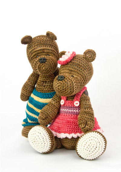 Pattern 27: Patti & PeteThe Twin Bears