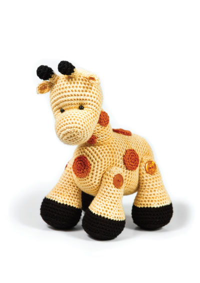 Pattern 30: Gerald The Giraffe