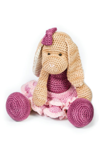 Pattern 31: Rose The Ballet Bunny