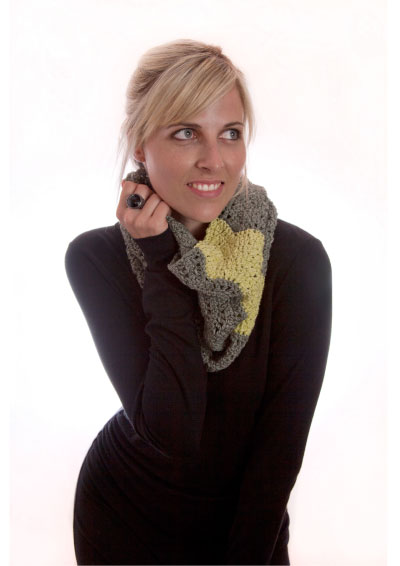 Pattern 5: Lime Jelly Cowl