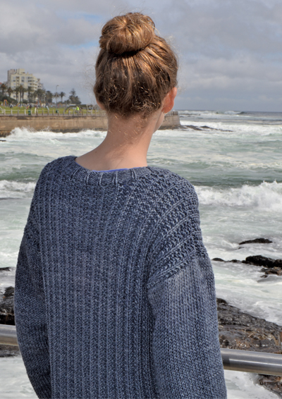 Pattern 33: Seeded Stitch Sweater