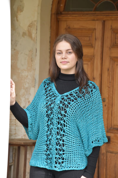 Pattern 45: Chunky Lacy Shirt