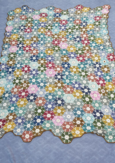Pattern 56: Birds garden Blanket