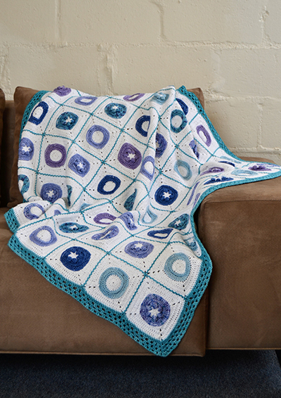 Pattern 56: Birds garden Blanket